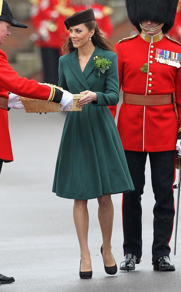 ESC: Kate Middleton, St. Patricks Day 2012