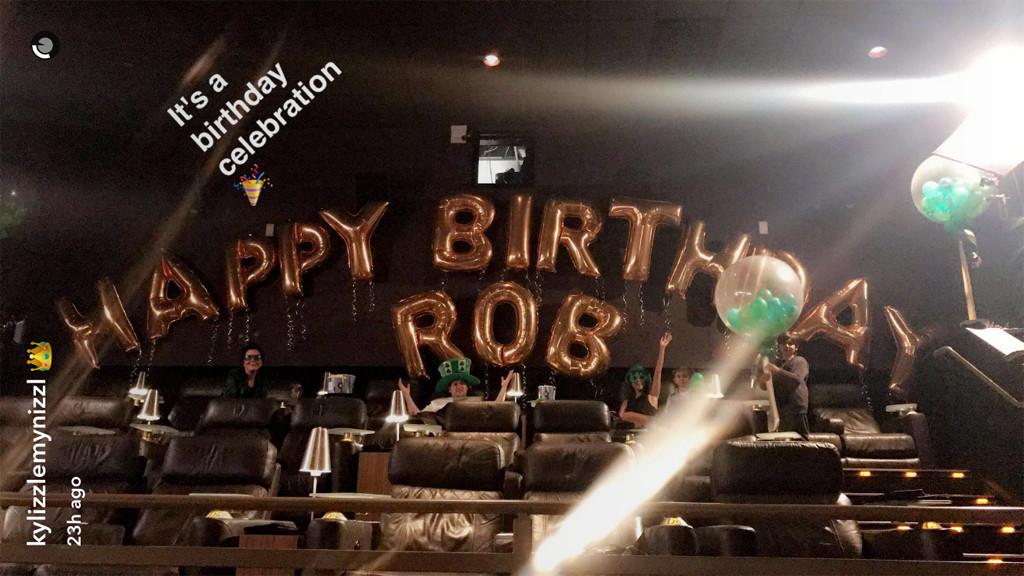 Rob Kardashian, 30th Birthday Party