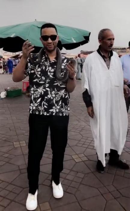 John Legend, Morocco
