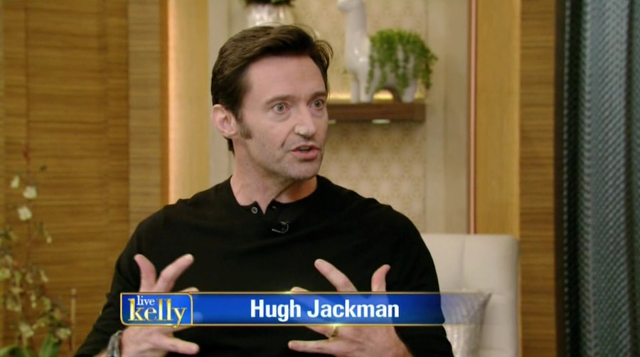 Hugh Jackman, LIVE! With Kelly