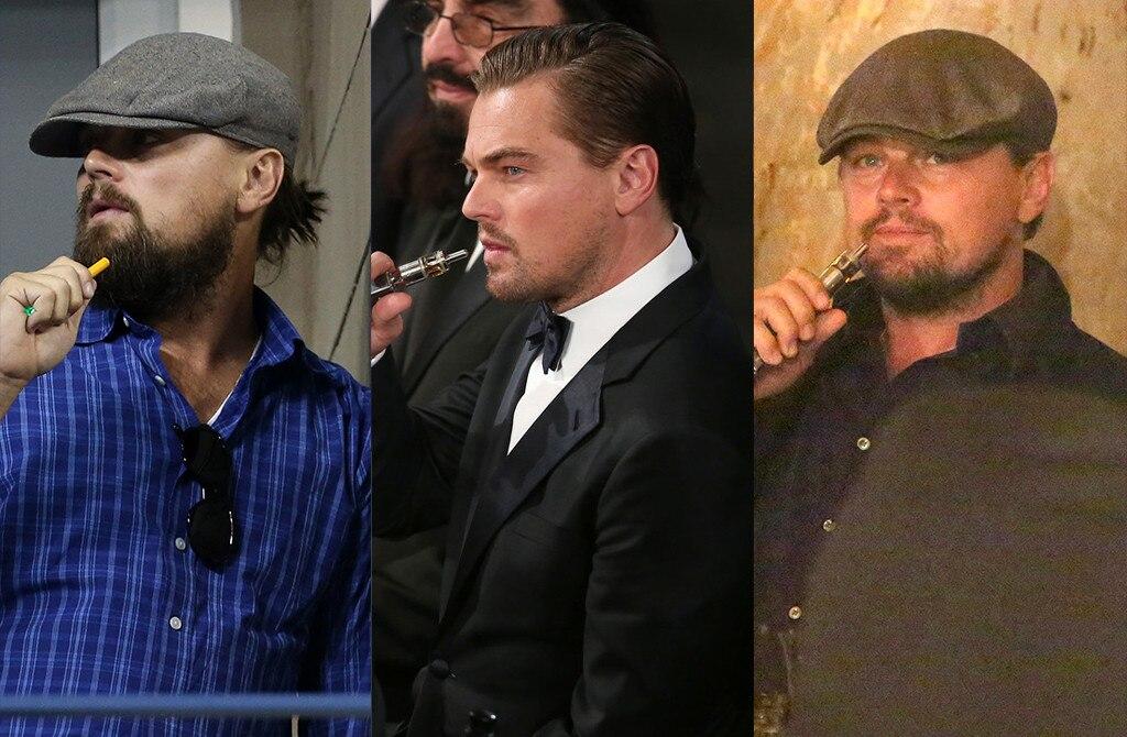 Leonardo DiCaprio, Vaping