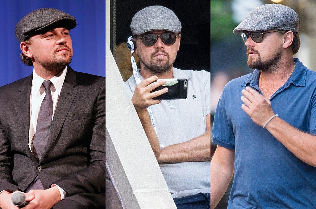 Leonardo DiCaprio, Newsboy Cap