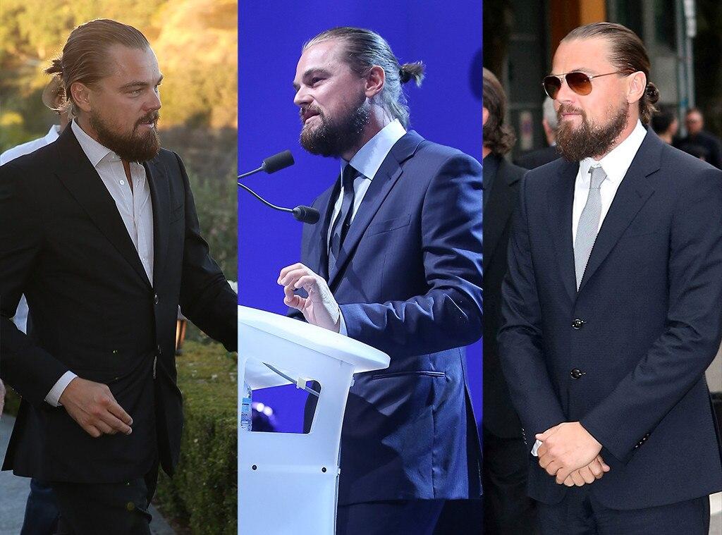 Leonardo DiCaprio, Man Bun
