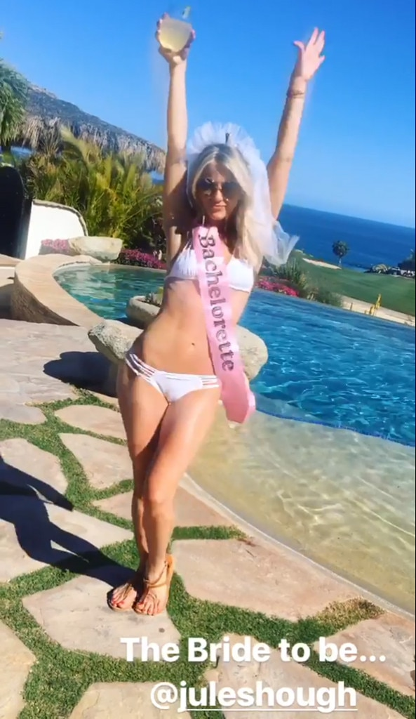 Julianne Hough, Bachelorette Party