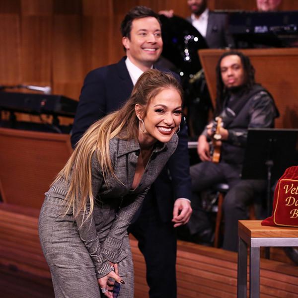 Jennifer Lopez, Jimmy Fallon, The Tonight Show