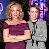 How Sarah Paulson and Jessica Lange Became Ryan Murphy's Treasured Muses