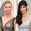 Charlize Theron, Sofia Boutella, 2017 Oscars, Academy Awards, Arrivals