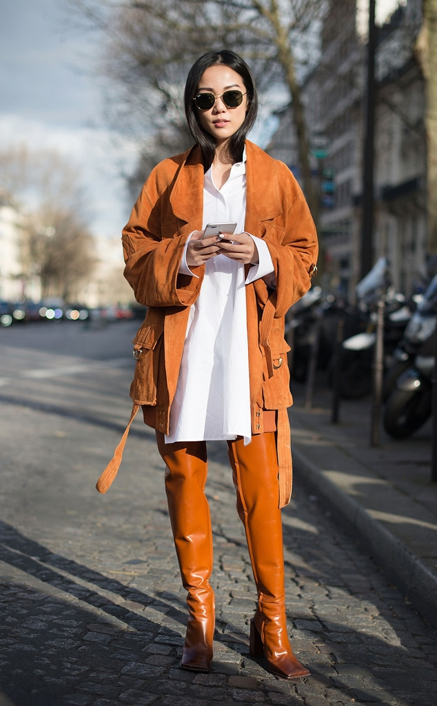 Yoyo Cao From Best Street Style From Paris Fashion Week Fall 2017 E News