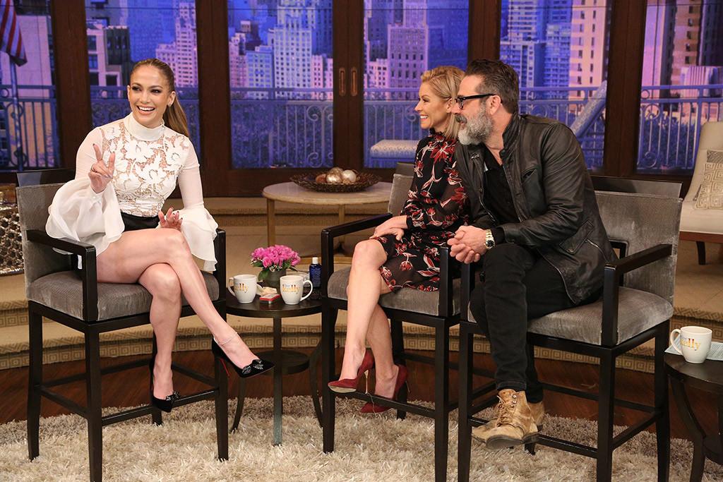 Jennifer Lopez, Kelly Ripa, Jeffrey Dean Morgan