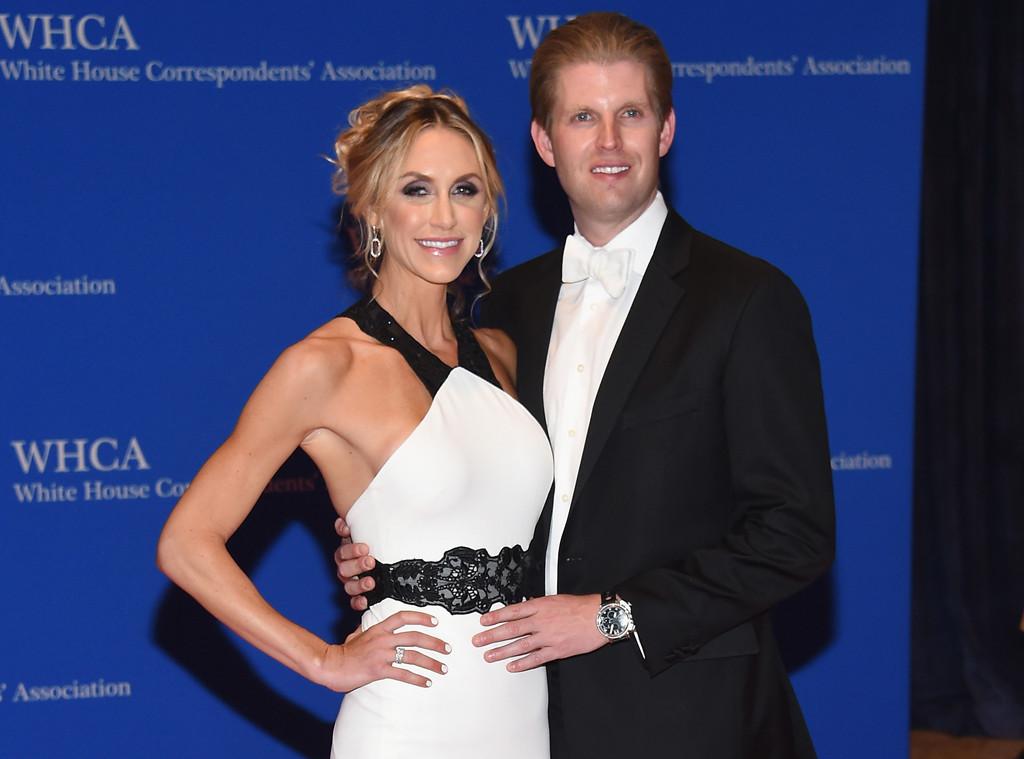 Lara Yunaska Trump, Eric Trump