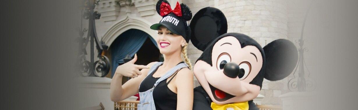 Gwen Stefani, Disneyland, Large Teaser