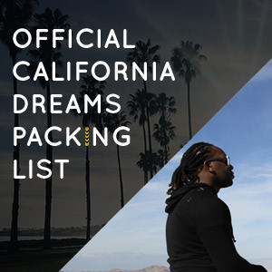 It List California - Packing List and Playlist