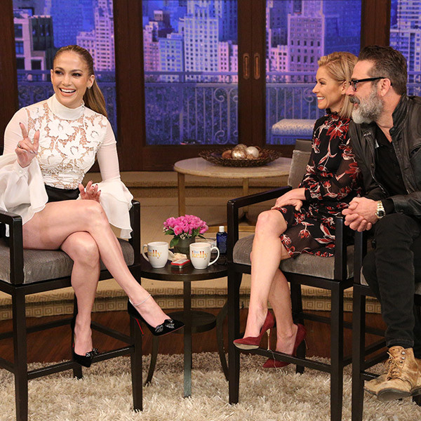 Jennifer Lopez, Kelly Ripa, Jeffrey Dean Morgan
