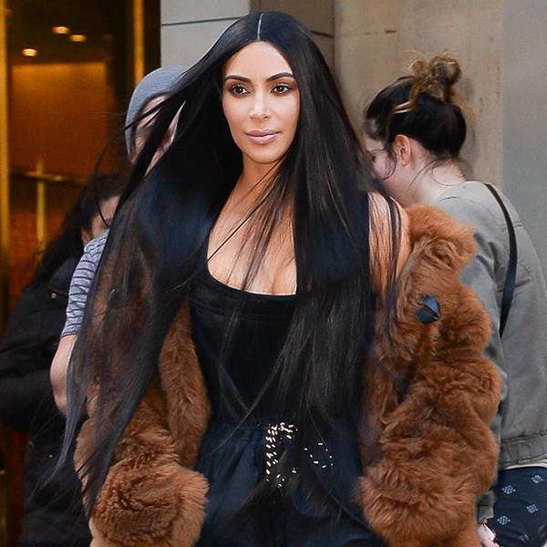 ESC: Kim Kardashian, Long Hair