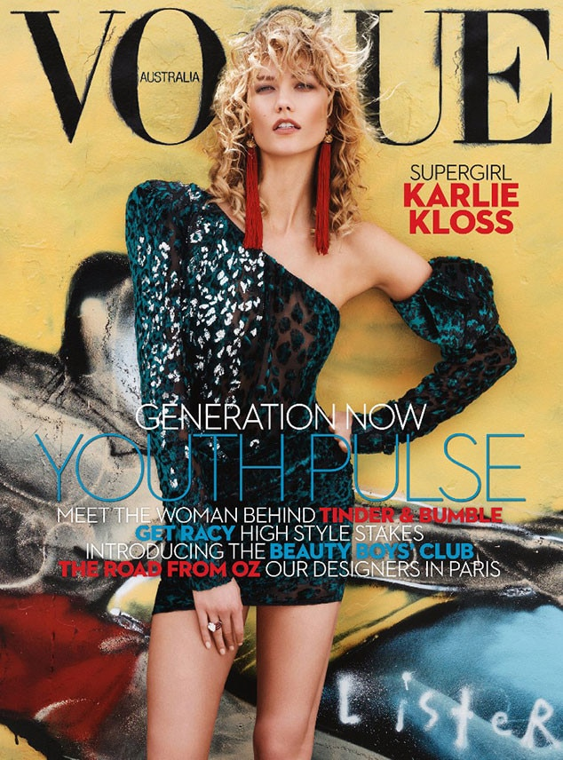 Karlie Kloss, Vogue Australia, April 2017 Issue