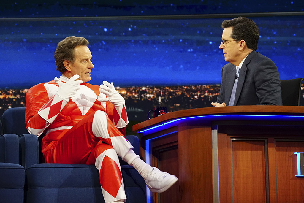 Bryan Cranston, The Late Show With Stephen Colbert