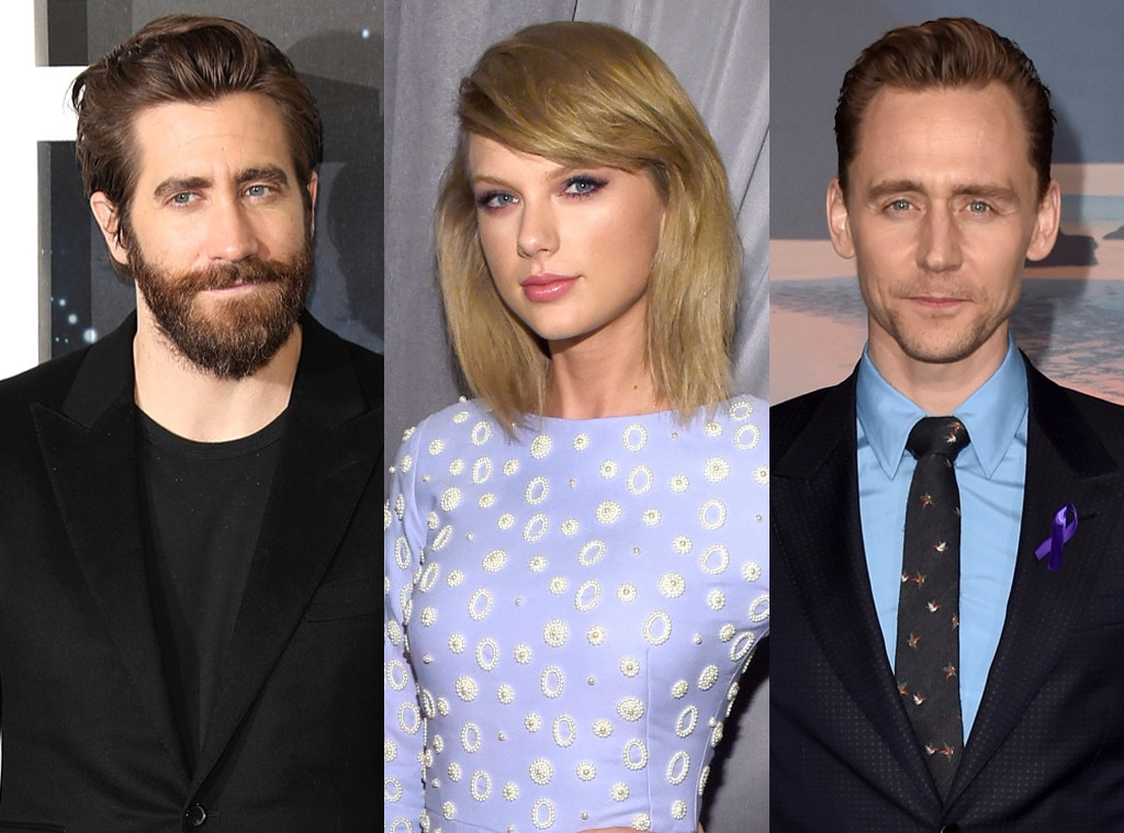 Jake Gyllenhaal, Taylor Swift, Tom Hiddleston