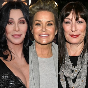 Cher, Yolanda Hadid, Anjelica Houston