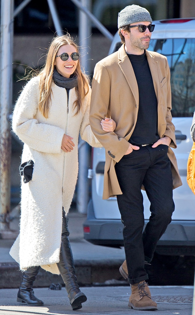 Romantically linked new boyfriend and girlfriend couple: Robbie Arnett and Elizabeth Olsen