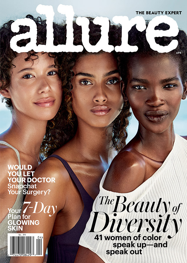 Allure Cover, Beauty and Diversity