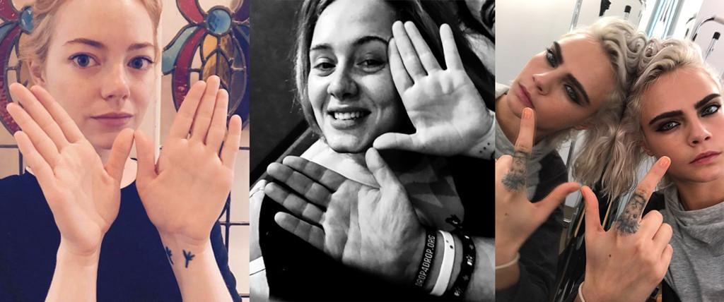 World Water Day, Emma Stone, Adele, Cara Delevingne