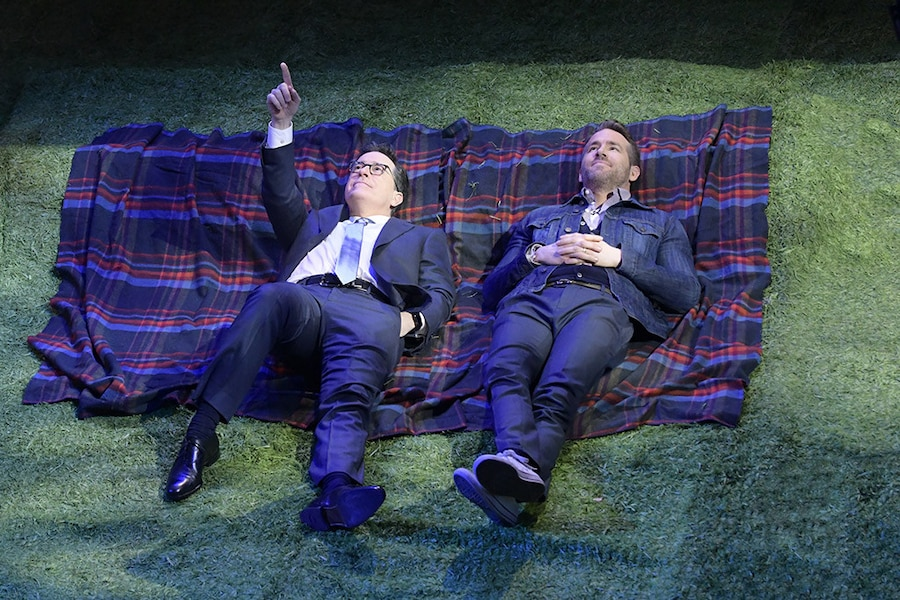 Stephen Colbert, Ryan Reynolds, The Late Show