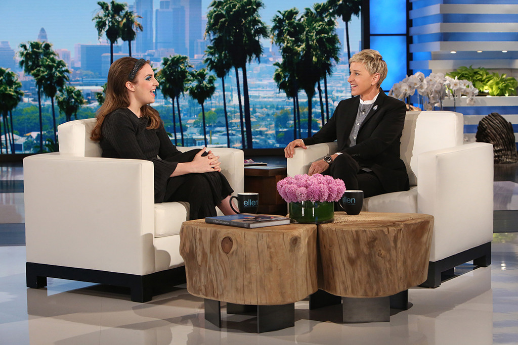 Lena Dunham, The Ellen DeGeneres Show