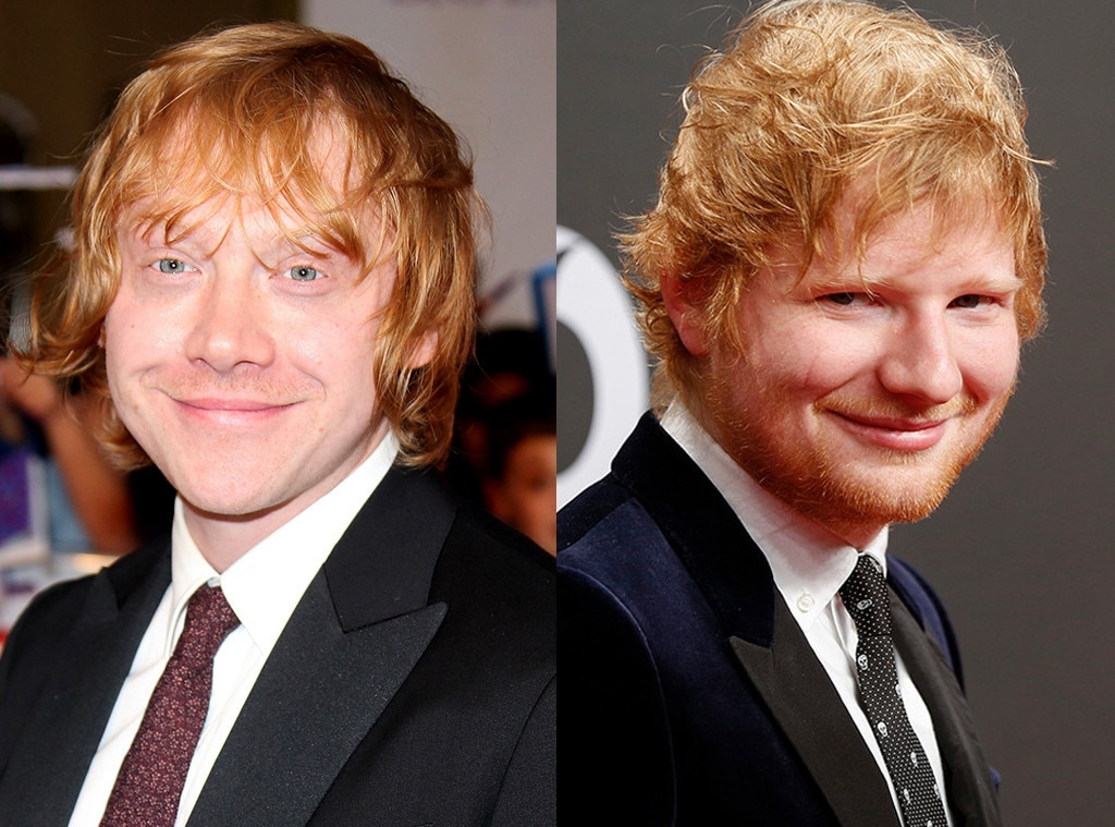 Ed Sheeran Is Just a Fake Character Created by Rupert ... руперт гринт 2017