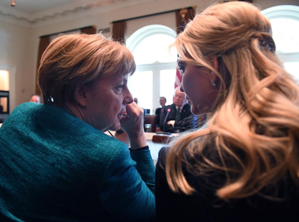 Angela Merkel, Ivanka Trump