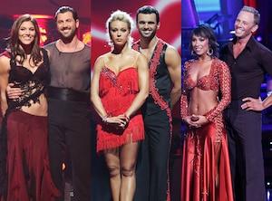 Hope Solo, Maksim Chmerkovskiy, Kate Gosselin, Tony Dovolani, Ian Ziering, Cheryl Burke, Dancing With The Stars