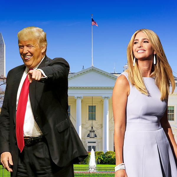 Donald Trump, Ivanka Trump, White House