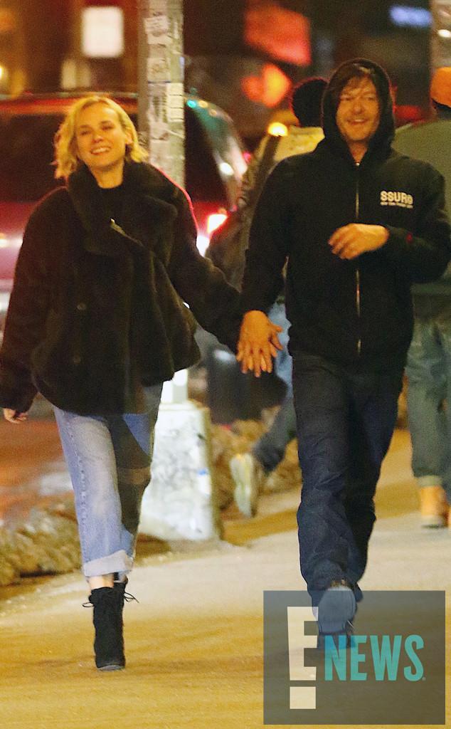 Diane Kruger, Norman Reedus, EXCLUSIVE