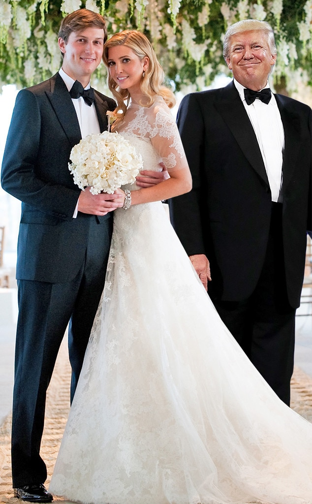 Ivanka Trump Wedding Pictures Jared Kushner