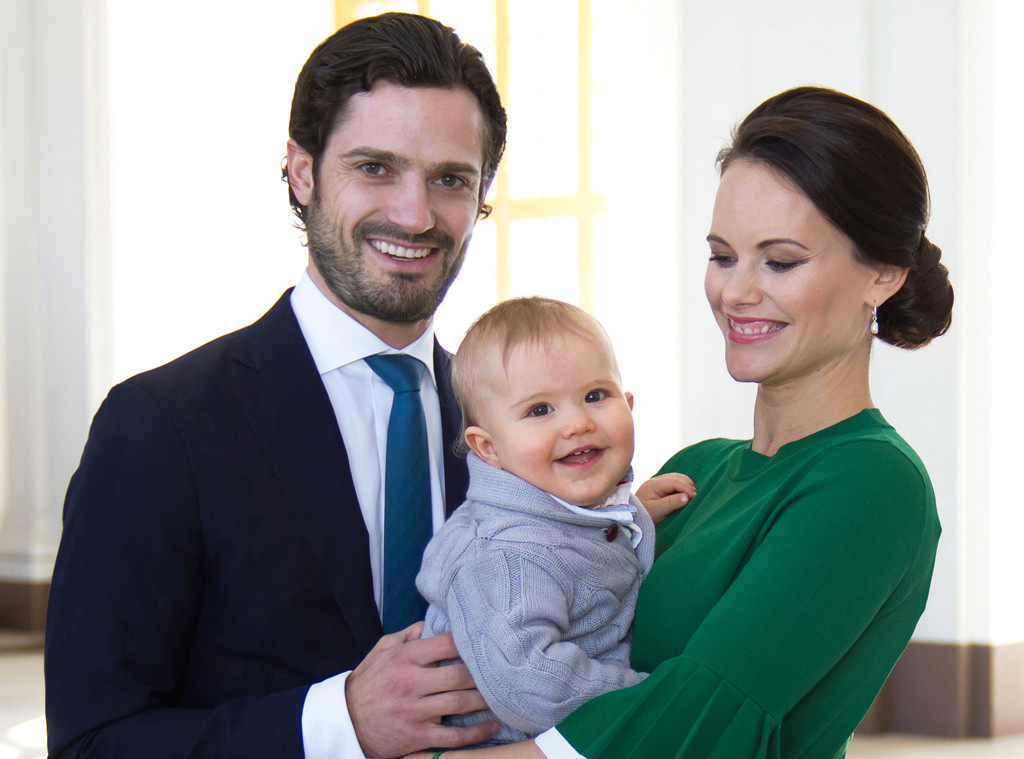 Prince Carl Philip, Princess Sofia of Sweden, Prince Alexander