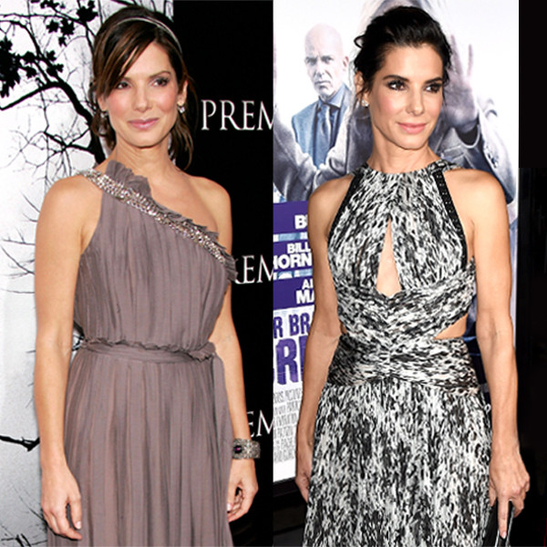 Sandra Bullock, Stars Not Aging