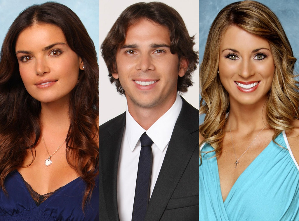Courtney Robertson, Ben Flajnik, Tenley Molzahn, The Bachelor, The Bachelorette