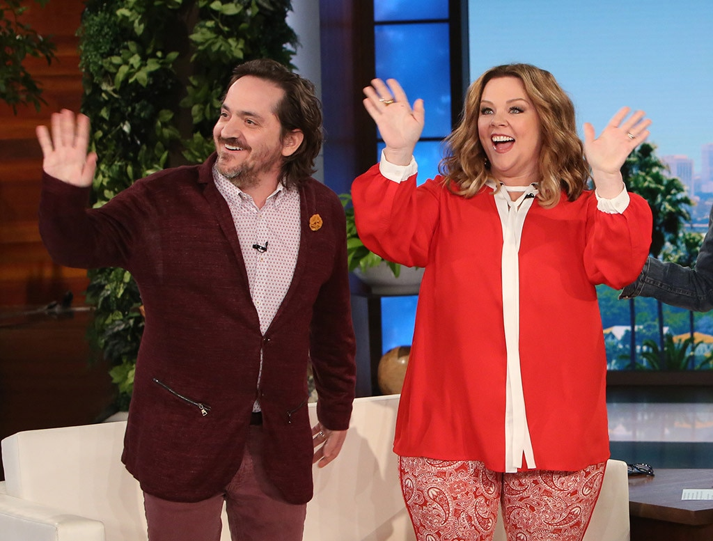 Melissa McCarthy and Ben Falcone Visit The Ellen Show