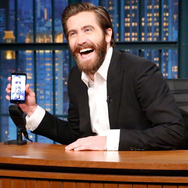Jake Gyllenhaal FaceTimes Ryan Reynolds and Baby Ines on Late Night