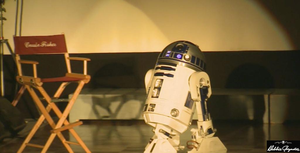 Carrie Fisher, Debbie Reynolds, R2-D2, Memorial