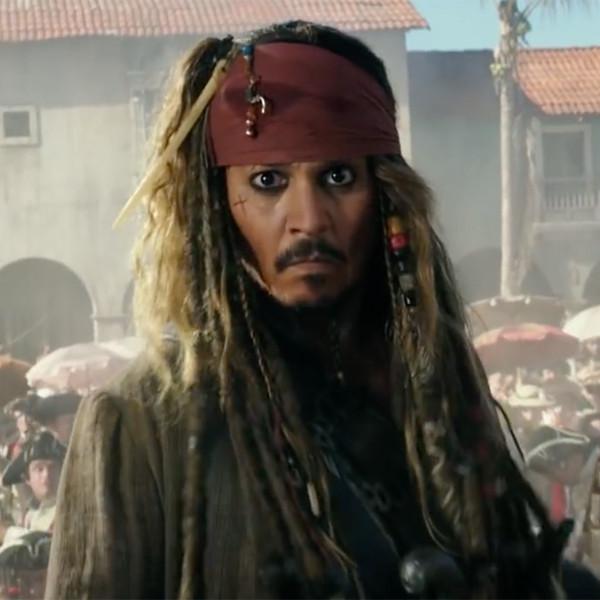 Johnny Depp, Pirates of the Caribbean Trailer