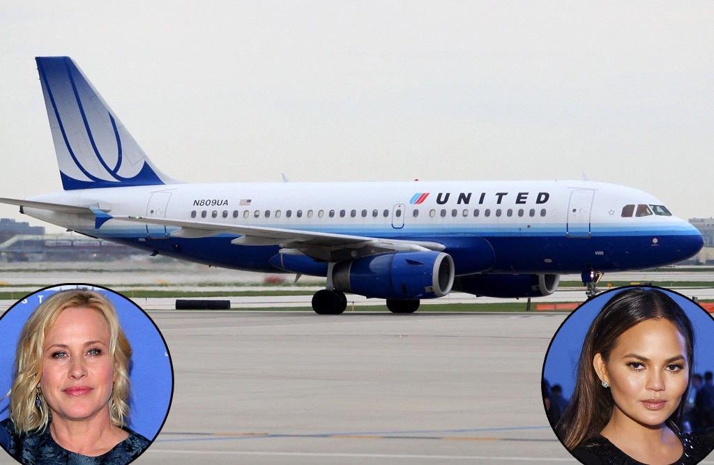 Patricia Arquette And Chrissy Teigen Weigh In After United Airlines Bars Girls From Flight Over Leggings