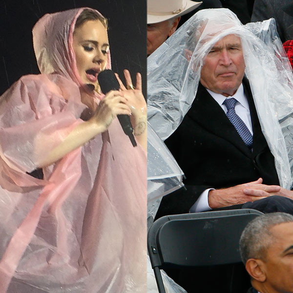 Adele, George W. Bush