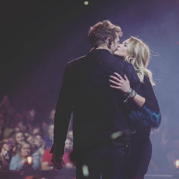 Miranda Lambert, Anderson East, Onstage Kiss, Instagram