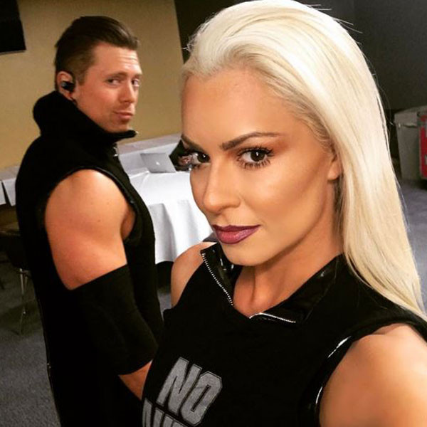 The Miz, Maryse, Instagram