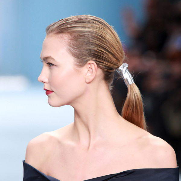ESC: Wrapped Ponytail, Karlie Kloss