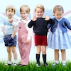 Royal Childhoods, Prince William, Prince Harry, Prince George, Princess Charlotte