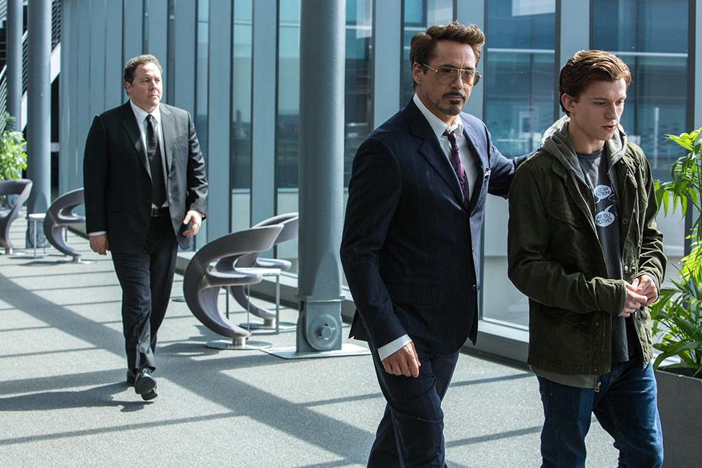 Spider-Man Homecoming, Jon Favreau, Robert Downey Jr., Tom Holland