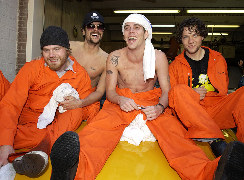 Bam Margera, Johnny Knoxville, Steve-O, Ryan Dunn, Jackass Cast
