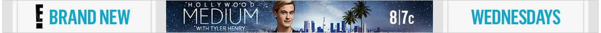 Hollywood Medium With Tyler Henry Tune-In Banners - New Wednesdays