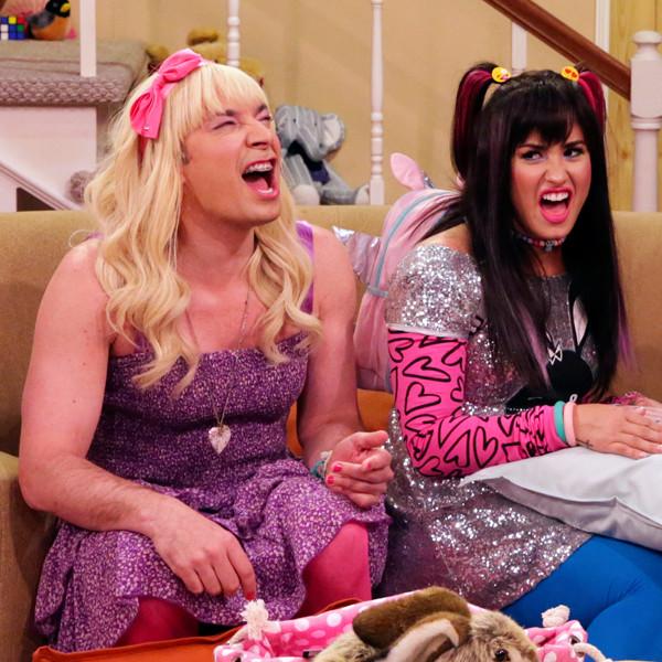 The Tonight Show, Jimmy Fallon, Demi Lovato, A.D. Miles